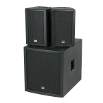 DAP-Audio Club Mate I 12 inch 800w Compact active speaker PA DJ set